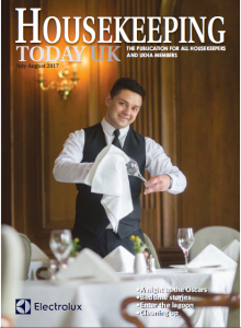 July August Housekeeping today front cover