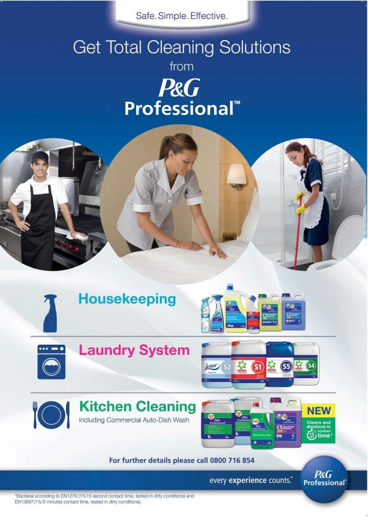 in control linen management hotel bath p and g professional