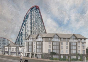 blackpool pleasure beach hotel hospitality business news
