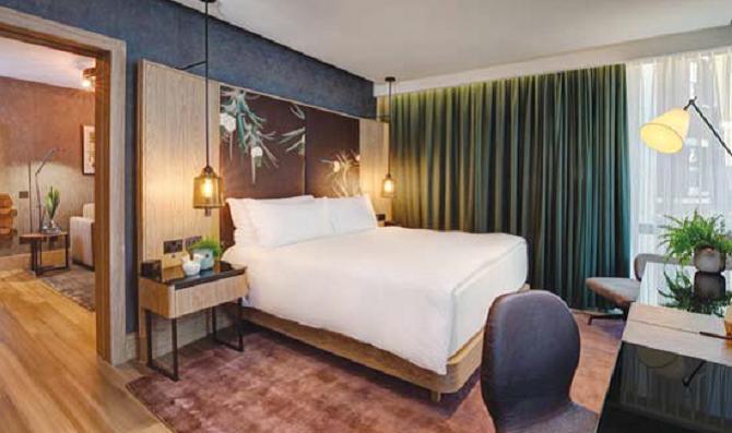 Hotel Suite Vegan Vegetarian Suitable Room Hospitality News London