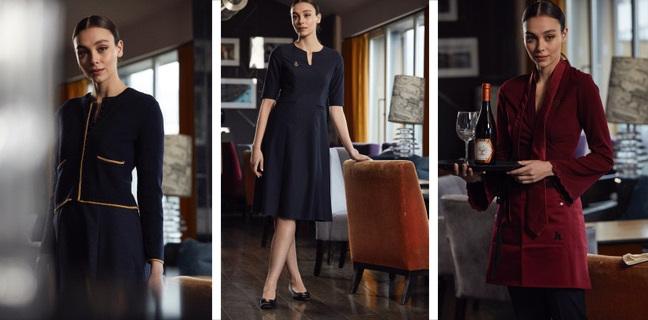 bespoke textiles uniforms montage