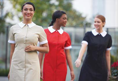 fashionizer striking hotel collection uniforms