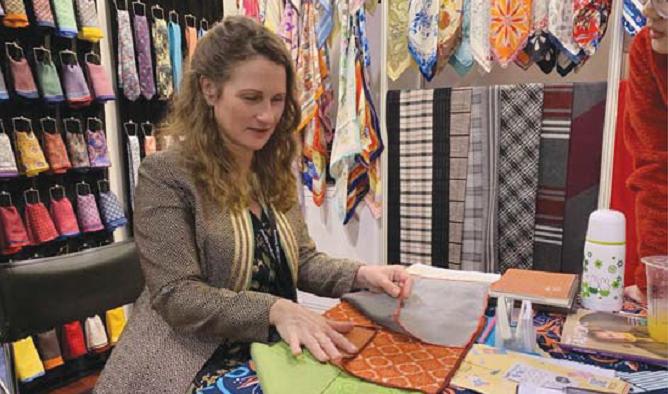 Katie Young Gerald Bespoke Textiles Studio