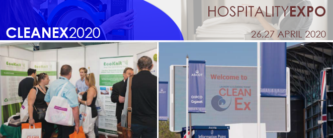 Hospitality Expo Trade Show Ecoknit Cleanex Montage