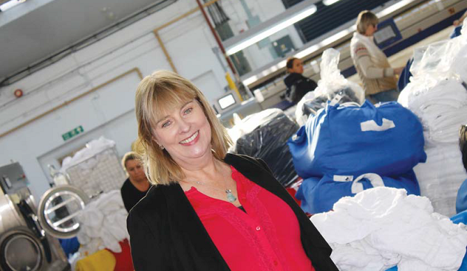 Rona Tait TDS Commercial Laundry News