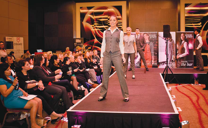 Simon Jersey Hospitality Uniform Show Housekeeping News