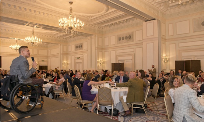 Landmark Hotel UKHA Speech Business Luncheon News