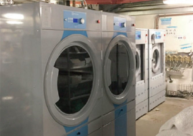 Renzacci Electrolux Lagoon Wetcleaning