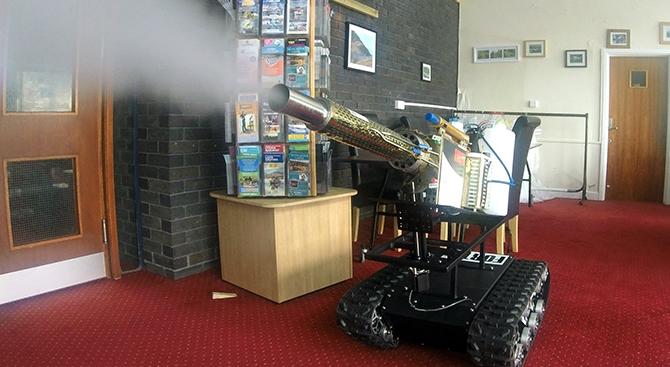Forth Disinfecting Robot Uk Lockdown Covid