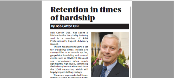 Retention Hardship Hotels Housekeeping 670