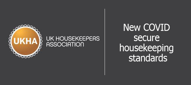 UKHA And Umbrella To Launch New COVID Secure Housekeeping Standards