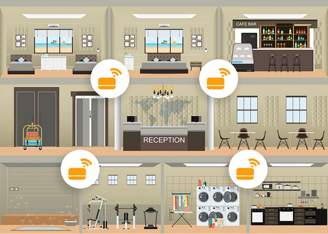 TRAKNCLEAN GRAPHic Covid Housekeeping
