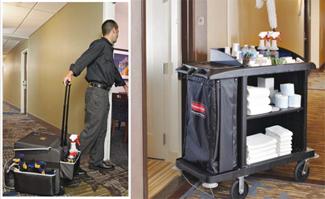 Rubbermaid Commercial Products Trolleys Housekeeping News